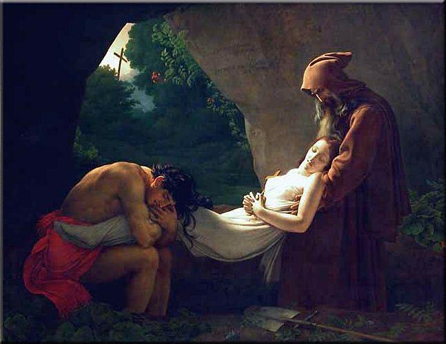 La muerte de Atala (Girodet).