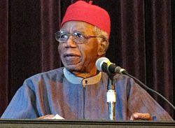 Chinua Achebe in 2008