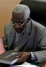 Aimé Césaire in 2003