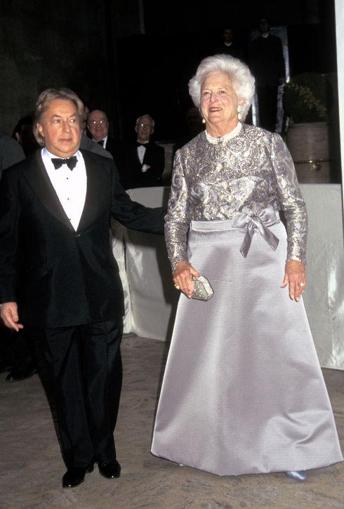 Arnold Scaasi, Designer for Barbara Bush