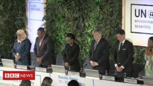 Video: United Nations remembers Ethiopia plane crash victims
